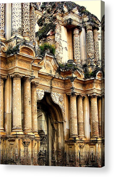 Architecture Acrylic Print featuring the photograph Lost Treasures by Karen Wiles