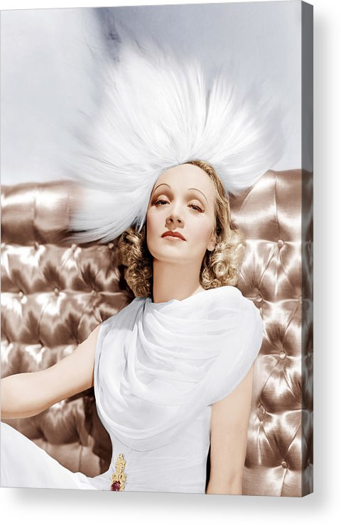 1930s Portraits Acrylic Print featuring the photograph Marlene Dietrich, Ca. 1930s by Everett