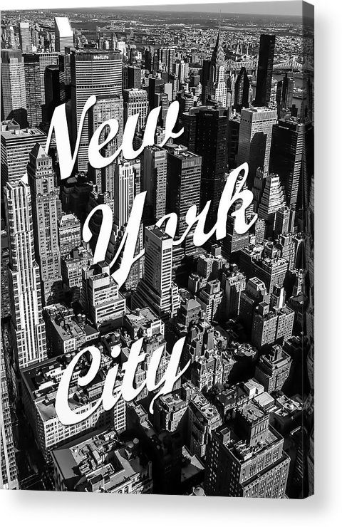 New York Acrylic Print featuring the photograph New York City by Nicklas Gustafsson