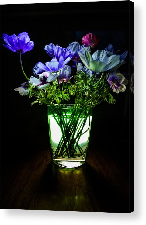 Flowers Acrylic Print featuring the photograph Spring Bouquet by Dave Steers