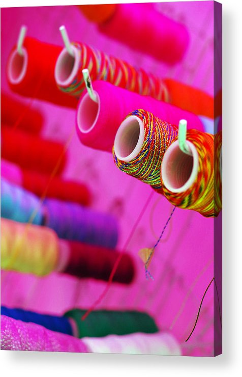 Color Acrylic Print featuring the photograph String Theory by Skip Hunt