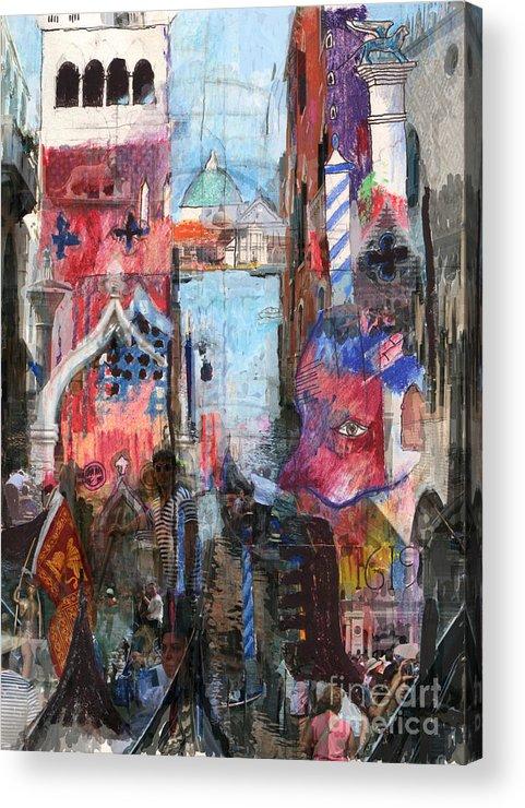 Venice Acrylic Print featuring the digital art Venice IIi by Andy Mercer