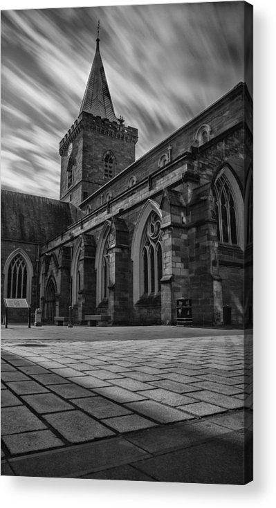 Johns Kirk Perth Acrylic Print featuring the photograph St.johns Kirk Perth by Jamie Moffat