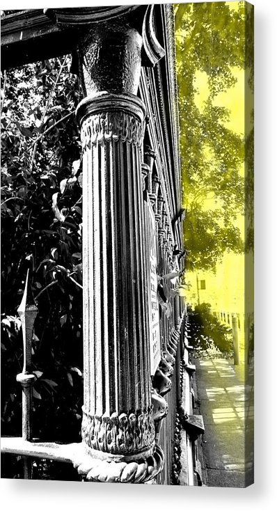 Osgoode Acrylic Print featuring the photograph Cool Shade by Ian MacDonald