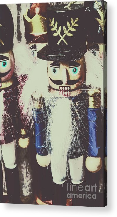 Old Acrylic Print featuring the photograph Colonial Toys by Jorgo Photography - Wall Art Gallery