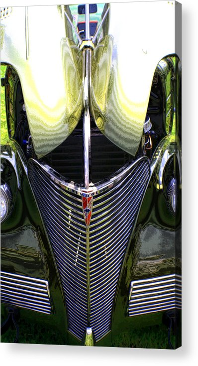 Car Acrylic Print featuring the photograph My Old Chevy by Greg Sharpe