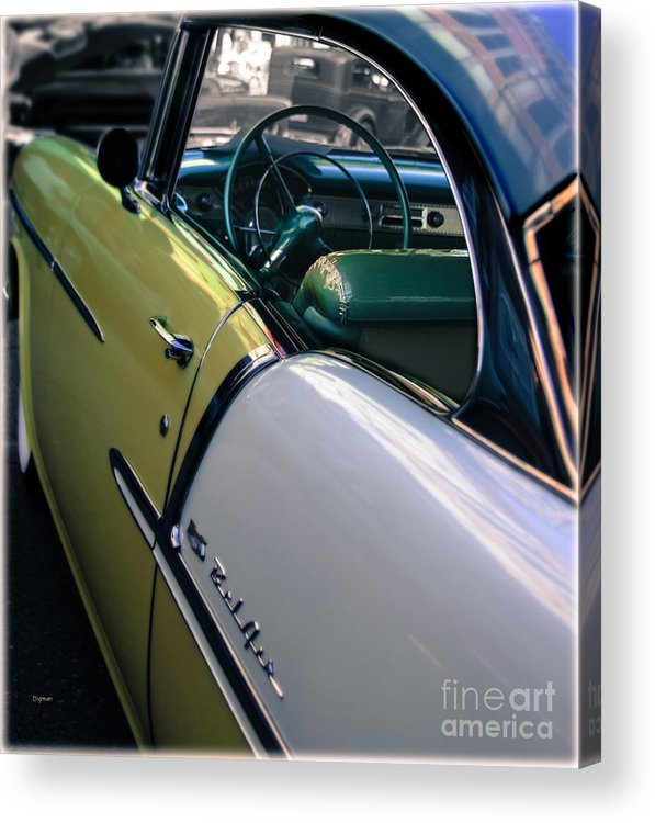 Car Acrylic Print featuring the photograph The Magic Of 55 by Steven Digman