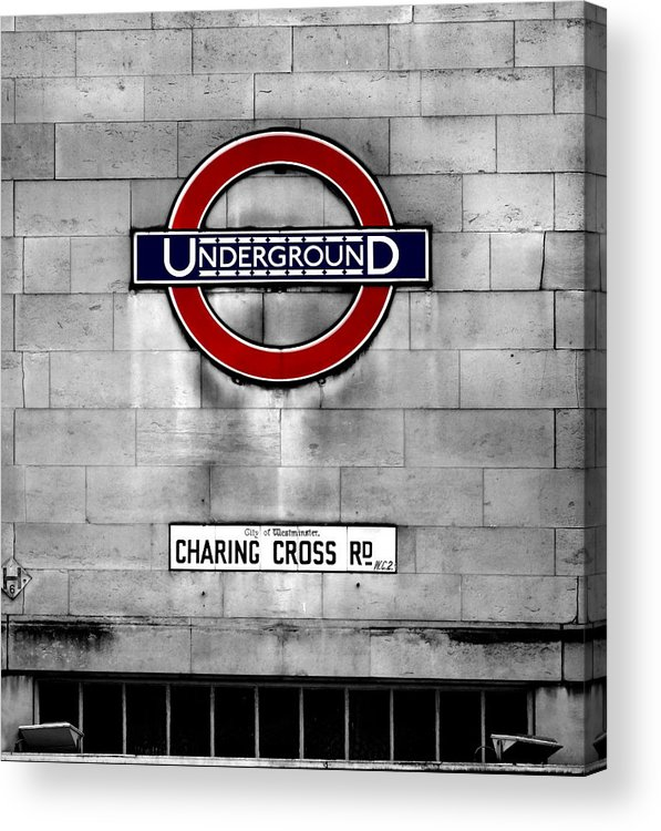 Underground Acrylic Print featuring the photograph Underground by Mark Rogan