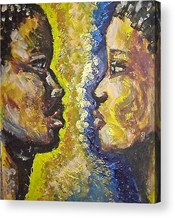 Acrylic Print featuring the painting You And I by Jan Gilmore