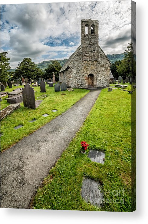 British Acrylic Print featuring the photograph Church Of St Mary by Adrian Evans