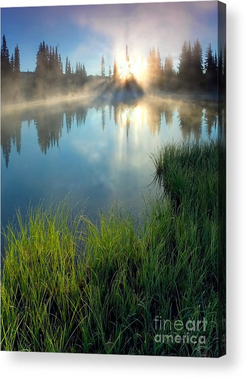 Fog Acrylic Print featuring the photograph First Light by Mike Dawson