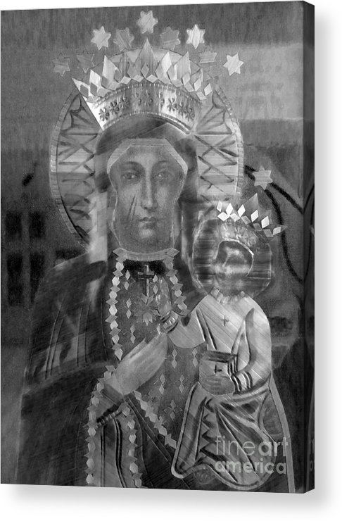 Icon Acrylic Print featuring the photograph Patron Of Poland by Patricia Januszkiewicz