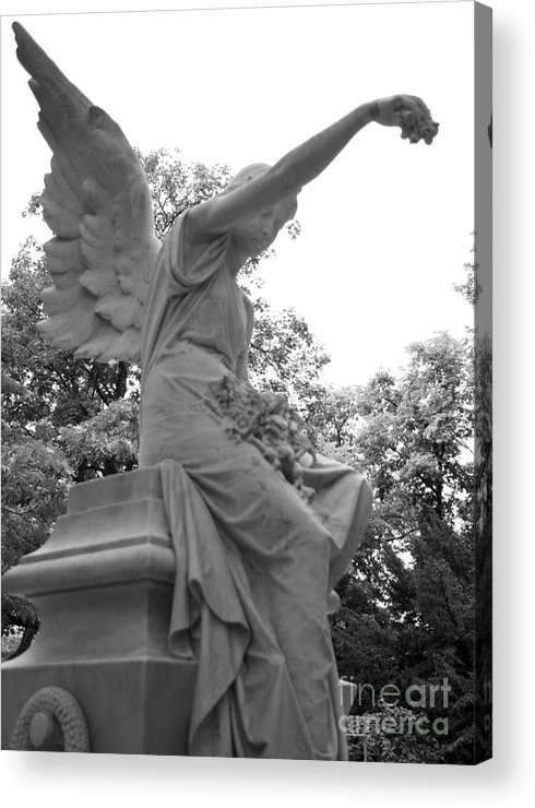 Pere Acrylic Print featuring the photograph Pere Lachaise IIi by Louise Fahy