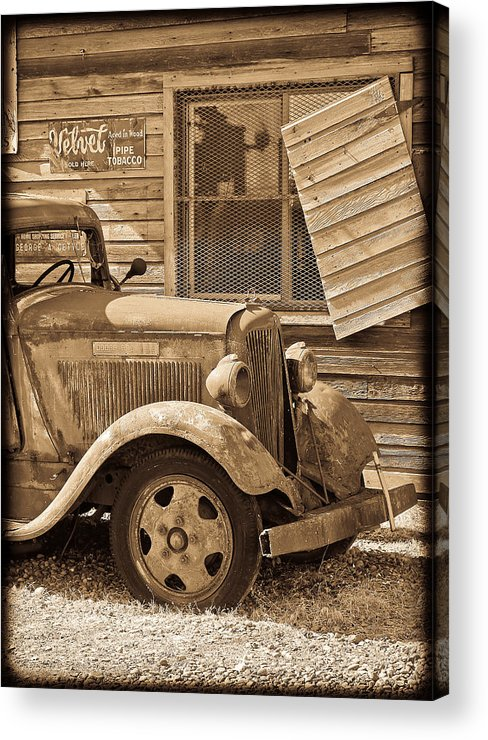 Dodge Acrylic Print featuring the photograph Good Old Days by Steve McKinzie