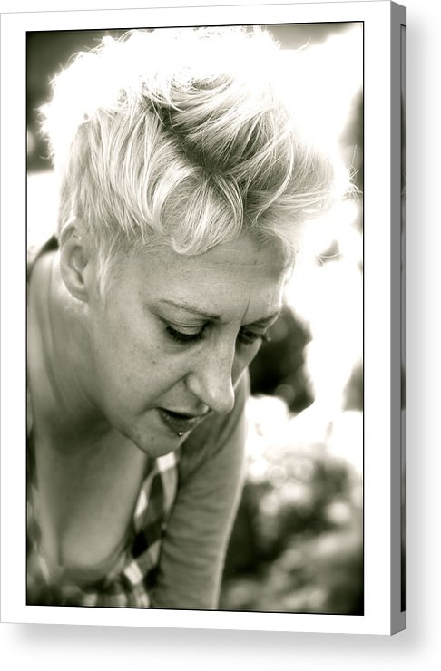 Pollen Acrylic Print featuring the photograph Lisa by Jez C Self