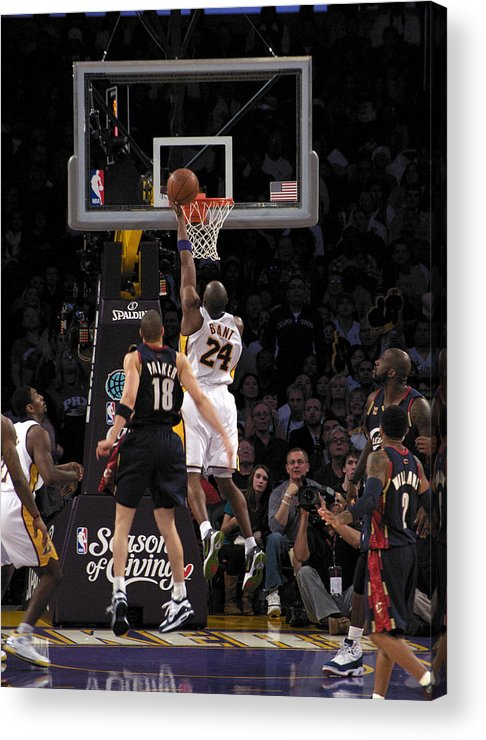 People Acrylic Print featuring the photograph Kobe by Marc Bittan