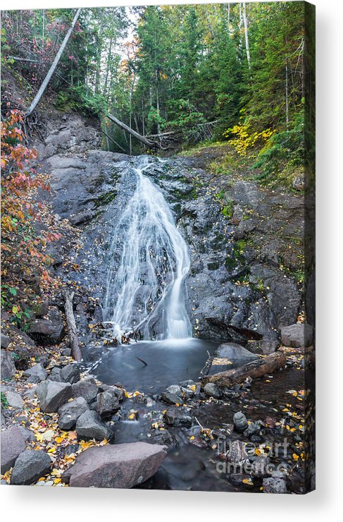 Eagle Acrylic Print featuring the photograph Jacob's Falls by Russell Johnson