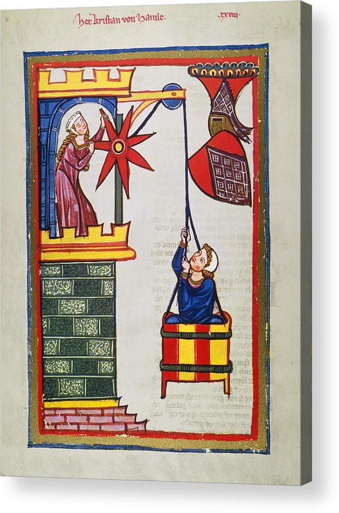 14th Century Acrylic Print featuring the photograph Heidelberg Lieder, 14th C by Granger
