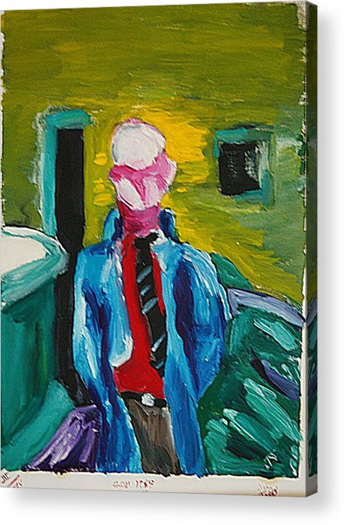 Any Acrylic Print featuring the painting Billy by John Toxey