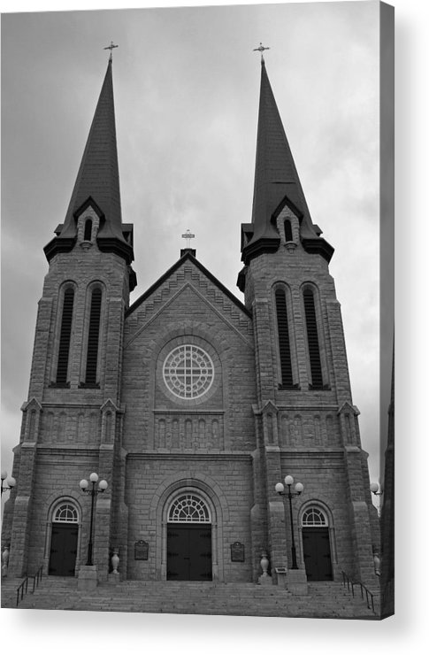 Cahedral Acrylic Print featuring the photograph Church by Lisa Hebert