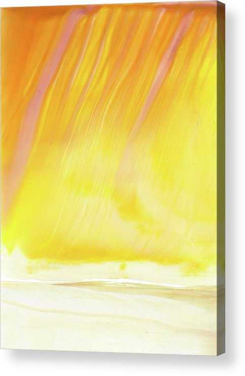 Desert Acrylic Print featuring the painting Desert Iv by Angelina Whittaker Cook