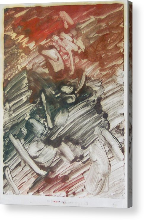 Love Acrylic Print featuring the painting First Love by John Toxey