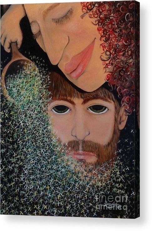 Magic Acrylic Print featuring the painting Lady Abundance by Leandria Goodman
