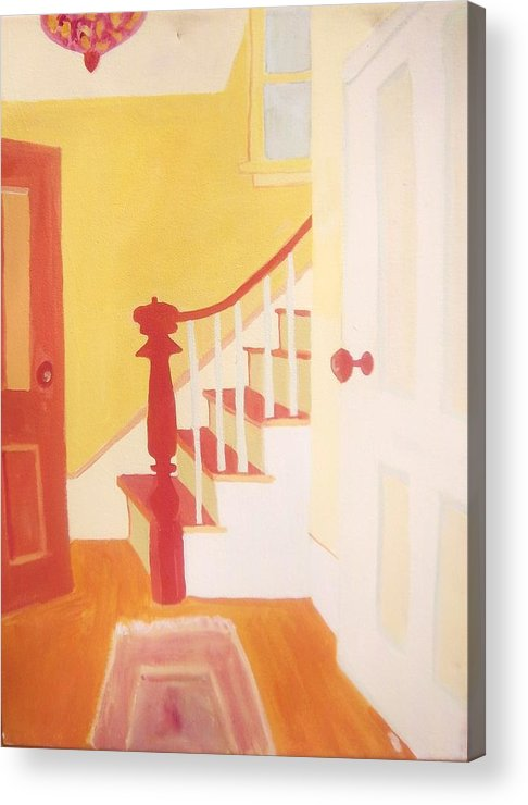 Interior Acrylic Print featuring the painting Lanesville Hallway by Debra Bretton Robinson