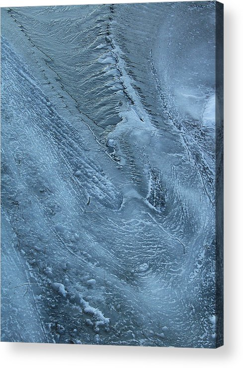Sublime Greeting Card Acrylic Print featuring the photograph Niflheim Takes On An Eery Persona by Terrance DePietro