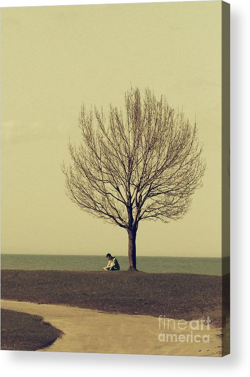 Man Acrylic Print featuring the photograph The Afternoon Spent by Dana DiPasquale