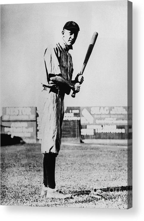 American League Baseball Acrylic Print featuring the photograph National Baseball Hall Of Fame Library 53 by National Baseball Hall Of Fame Library