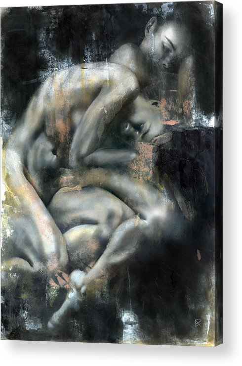 Figurative Acrylic Print featuring the painting Equinox by Patricia Ariel