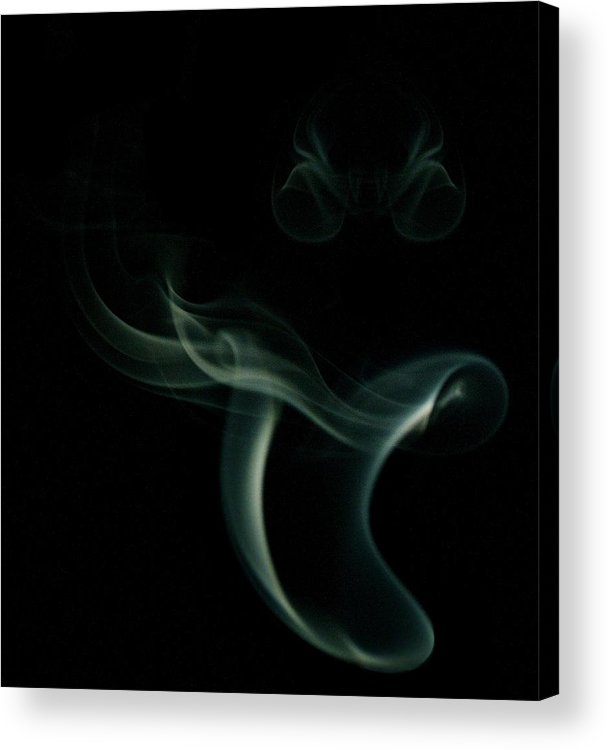 Smoke Photography Acrylic Print featuring the photograph The Joker by James Cummings