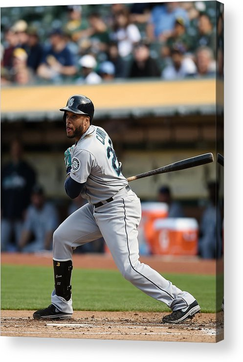 Game Two Acrylic Print featuring the photograph Seattle Mariners V Oakland Athletics - by Thearon W. Henderson