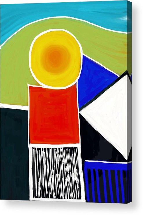 I Am Acrylic Print featuring the digital art I Am by Judith Chantler