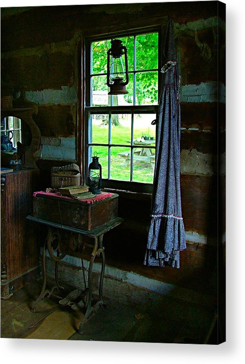 Grandmas Acrylic Print featuring the photograph Grandma's Things by Julie Dant