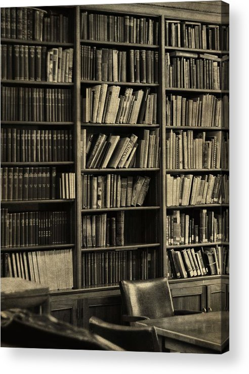 Old Library Acrylic Print featuring the photograph Old Library by Dan Sproul