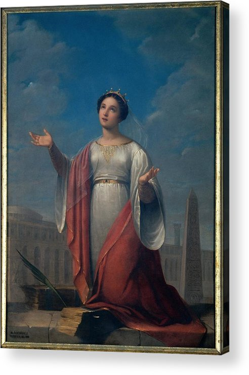Catherine Acrylic Print featuring the photograph Schiavoni Natale, St Catherine, 1828 by Everett