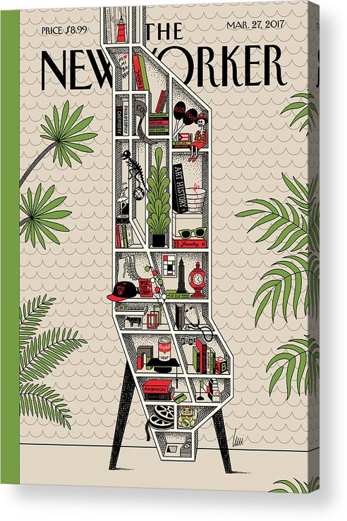 Shelf Life Acrylic Print featuring the painting Shelf Life by Luci Gutierrez
