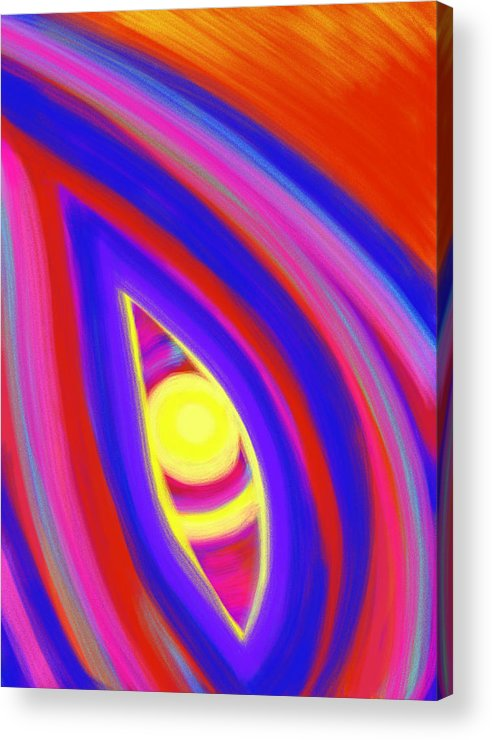 Horizon Acrylic Print featuring the painting The Horizon Of Osirus by Daina White