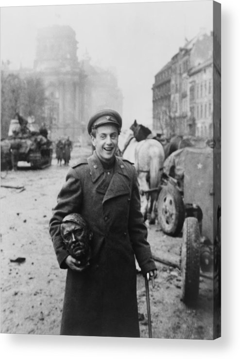 History Acrylic Print featuring the photograph World War 2, Battle Of Berlin, April by Everett