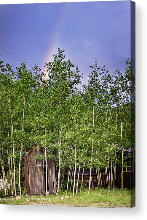 Colorado Acrylic Print featuring the photograph Pot Of Gold by Beth Riser