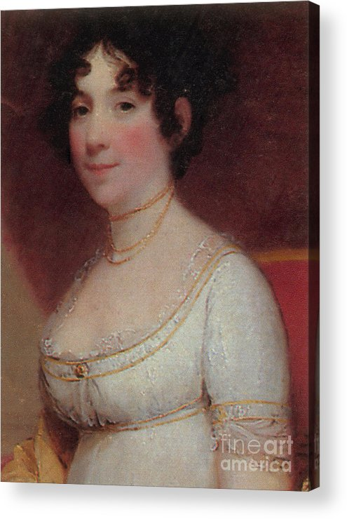 Dolley Payne Todd Madison Acrylic Print featuring the photograph Dolley Madison by Photo Researchers