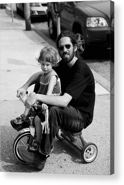 Father Acrylic Print featuring the photograph Fathers Love by John Toxey