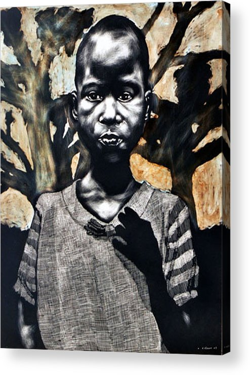 Acrylic Print featuring the mixed media 1962 by Chester Elmore