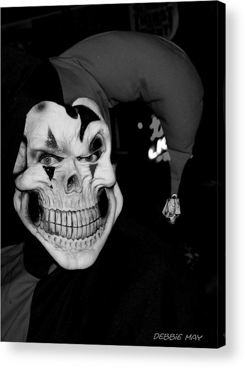 Scary Acrylic Print featuring the photograph Be Feared - Debbie-may - Photosbydm by Debbie May