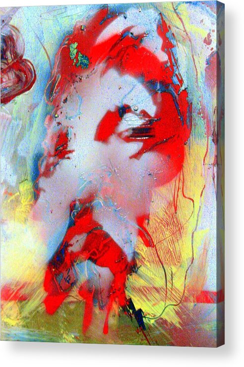 Acrylic Print featuring the digital art Christ by Christian Gould