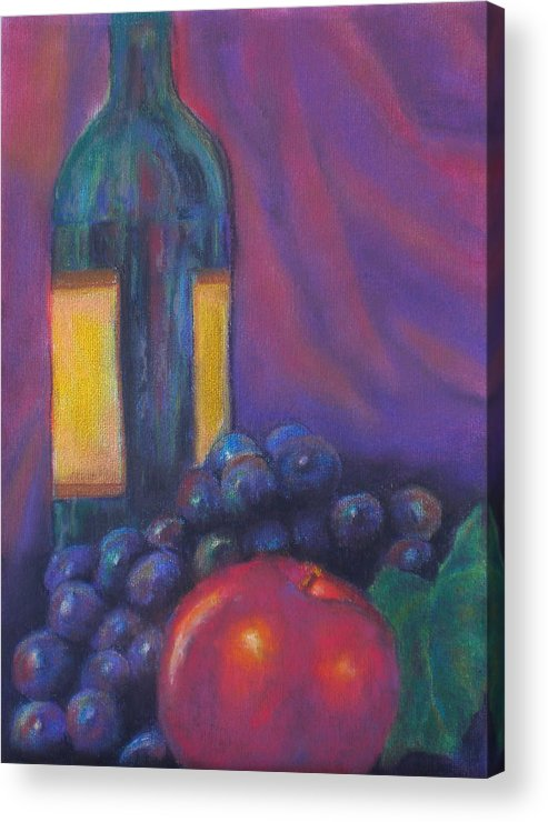 Pastel Acrylic Print featuring the painting Clarity by Lou Ewers