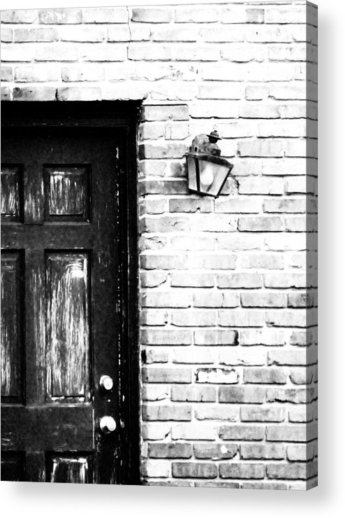 Door Acrylic Print featuring the photograph Closed For The Day by Nikki Mansur