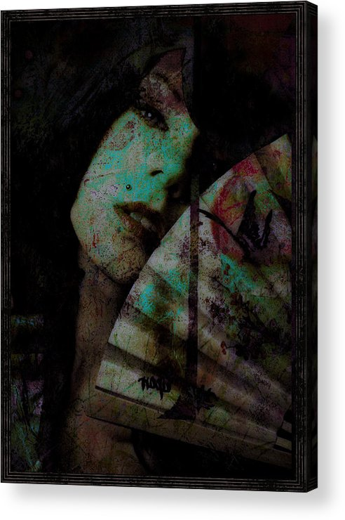 Asian Acrylic Print featuring the photograph Jade by Adam Kissel